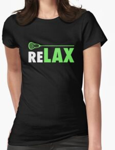 ReLAX Lacrosse Sticks Womens Fitted T-Shirt