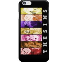 nanatsu no taizai seven deadly sins meliodas ban king anime manga shirt iPhone Case/Skin