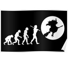 EVOLUTION OF THE WITCH Poster