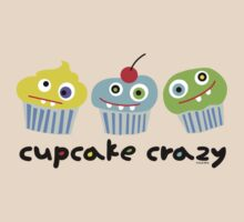 Cupcake Crazy - beige by Andi Bird