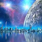 Cobalt Island Cities of the Future by SpinningAngel