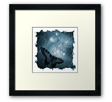 The Atlas of Dreams - Plate 4 (blue) Framed Print