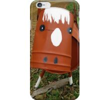 Cow of a Mail Box iPhone Case/Skin