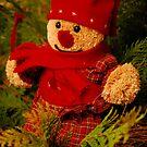 Christmas Bear by vbk70