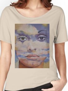 Mona Lisa Women's Relaxed Fit T-Shirt