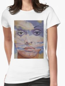 Mona Lisa Womens Fitted T-Shirt