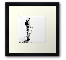 into the Nothingness... Framed Print