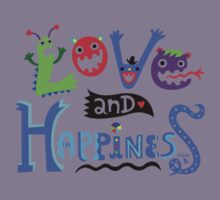 Love & Happiness  - beige Kids Clothes