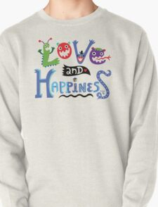 Love & Happiness  - beige T-Shirt
