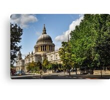 St. Pauls Cathedral, London Canvas Print
