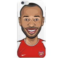 Thierry Henry, Arsenal iPhone Case/Skin