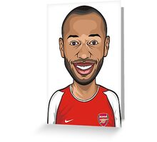 Thierry Henry, Arsenal Greeting Card