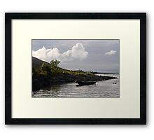 Curragh in the Burren Framed Print