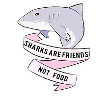 Sharks Are Friends - Not Food by Hayzlenut