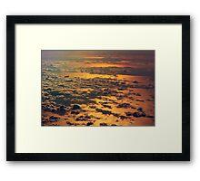 Sunrise over Zanzibar - Tanzania, Africa Framed Print