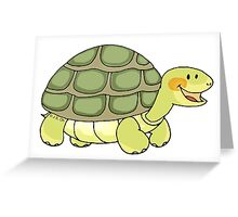 Cute and funny turtle Greeting Card