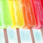 popsicle rainbow by jashumbert