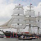 "Sailingship ""Stad Amsterdam"" by Robert Abraham"