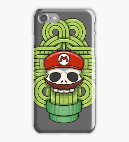 Mario Skull iPhone Case/Skin
