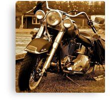 Harley  Davidson  . Views (217) , Favs (4). Thank you Easy Riders !!!! Canvas Print