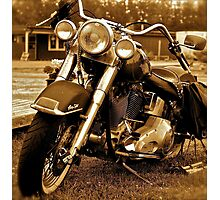 Harley  Davidson  . Views (217) , Favs (4). Thank you Easy Riders !!!! Photographic Print