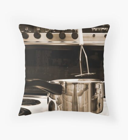 Mystery Mash Throw Pillow