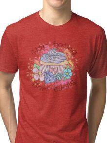 Stop hating, start baking  Tri-blend T-Shirt