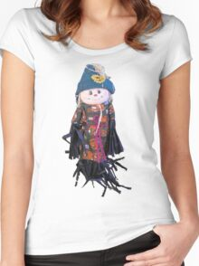 Rafia Doll Women's Fitted Scoop T-Shirt