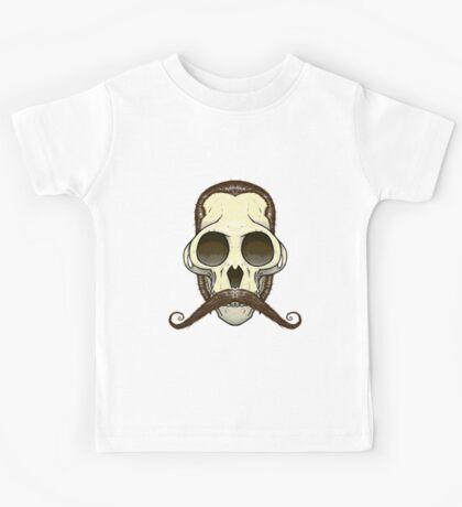 Gentleman Monkey Skull Kids Tee