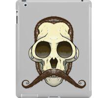Gentleman Monkey Skull iPad Case/Skin