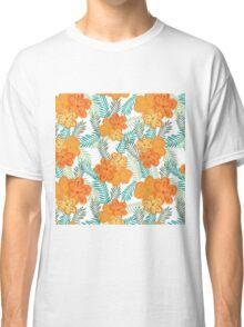Brush Flower Classic T-Shirt