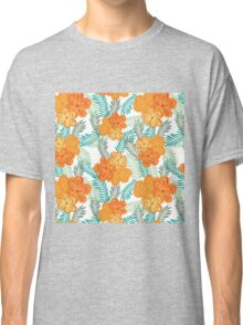 Brush Flower Classic T-Shirt