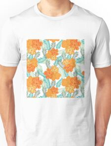 Brush Flower Unisex T-Shirt