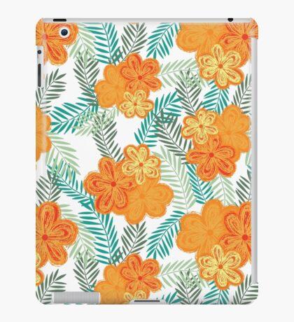 Brush Flower iPad Case/Skin
