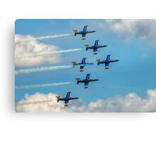 The Breitling Jets in Delta Formation Canvas Print