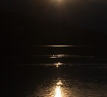 Sunset over Lake Bohinj by Ian Middleton