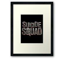 Suicide Squad - new movie logo Framed Print