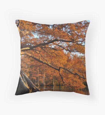 Cypress Fall Throw Pillow