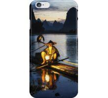 Cormorant Fisherman iPhone Case/Skin