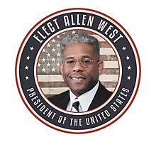 Elect Allen West Photographic Print