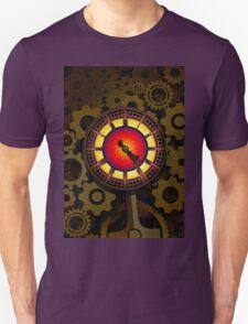 Brass Cogwork Heart Unisex T-Shirt