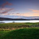 Dusk at Lochindorb II by Christopher Thomson