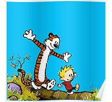 Calvin and Hobbes Poster