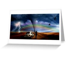 Somewhere Over The Rainbow... Greeting Card