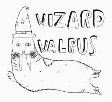Wizard Walrus (black) by MichaelAshMash