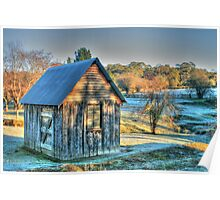 The Little House & the Frost .. HDR Poster