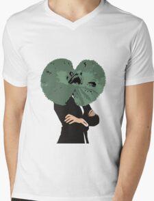 Lizbehonest Mens V-Neck T-Shirt
