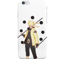 Naruto Six Paths Sage Mode Smile iPhone Case/Skin