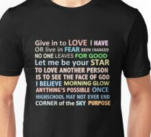Musical quotes Unisex T-Shirt