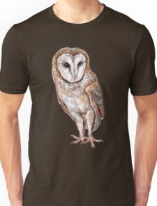 Barn owl drawing Unisex T-Shirt
